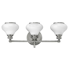 Hinkley Lighting Ainsley Polished Nickel Bathroom Light