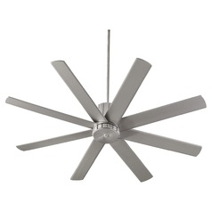 Quorum Lighting Proxima Satin Nickel Ceiling Fan Without Light