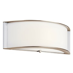 Kichler Lighting Polished Nickel LED Sconce