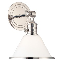 Single-Light Switched Sconce with Switch