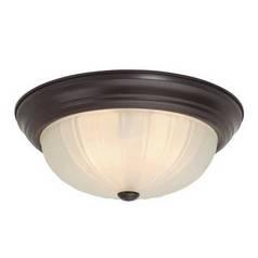 Design Classics Lighting 13-Inch Flushmount Ceiling Light 913ES-MF/30 (SA 60-450)