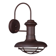 Maxim Lighting Wharf Empire Bronze Outdoor Wall Light