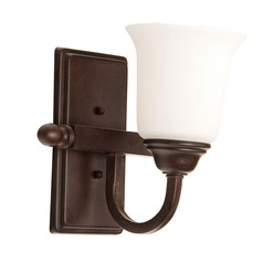 Craftmade Lighting Madison Aged Bronze Textured Sconce