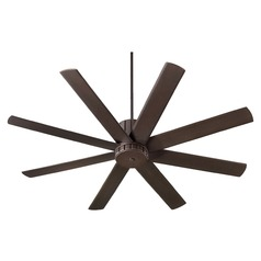 Quorum Lighting Proxima Oiled Bronze Ceiling Fan Without Light