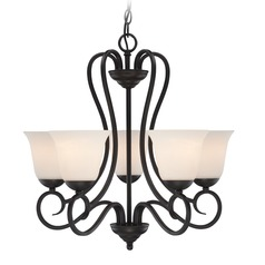 Designers Fountain Addison Oil Rubbed Bronze Chandelier