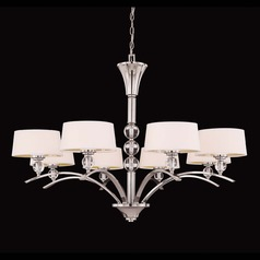 Savoy House Polished Nickel Chandelier