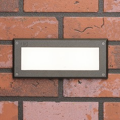 Kichler Lighting Landscape LED Textured Architectural Bronze LED Recessed Deck Light