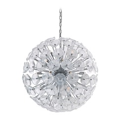 Cassini Polished Chrome Pendant Light
