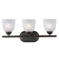 Maxim Lighting Axis Oil Rubbed Bronze Bathroom Light