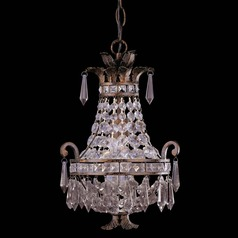Savoy House New Tortoise Shell Mini-Chandelier