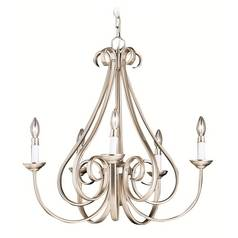 Kichler Lighting Kichler Chandelier in Brushed Nickel Finish 2021NI