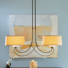 Hubbardton Forge Lighting Almost Infinity Bronze Island Light