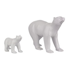 Set Of 2 Polar Bears