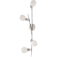 Lite Source Lighting Ilandere Polished Steel Sconce