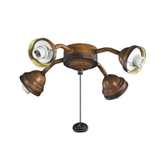 Kichler Lighting Mediterranean Walnut Light Kit