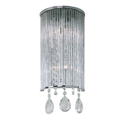 Gala Polished Chrome Sconce