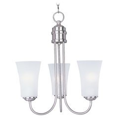 Maxim Lighting Logan Satin Nickel Chandelier