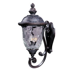 Maxim Lighting Carriage House Vx Oriental Bronze Outdoor Wall Light