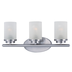 Maxim Lighting Corona Satin Nickel Bathroom Light