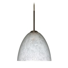 Besa Lighting Sasha Ii Bronze LED Mini-Pendant Light