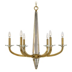 Hinkley Lighting Ascher Brushed Caramel Chandelier