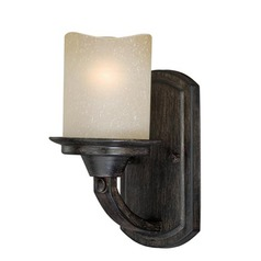 Halifax Black Walnut Sconce by Vaxcel Lighting