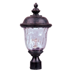 Maxim Lighting Carriage House Vx Oriental Bronze Post Light