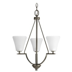 Progress Lighting Bravo Antique Bronze Mini-Chandelier