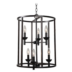 Kenroy Home Arlen Oil Rubbed Bronze Pendant Light