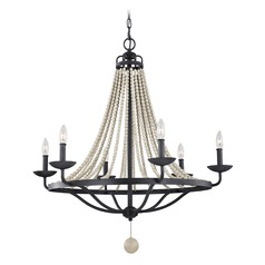 Feiss Lighting Nori Zinc / Driftwood Grey Chandelier