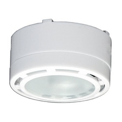 120V Xenon Puck Light Recessed / Surface Mount 3100K White by American Lighting