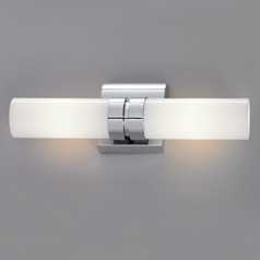 Norwell Lighting Wave Chrome Bathroom Light