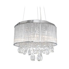 Gala Polished Chrome Pendant Light