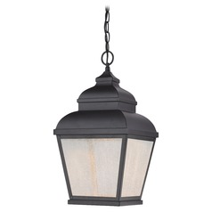 Minka Lighting Mossoro Black LED Outdoor Hanging Light