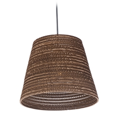 Maxim Lighting Java Black Pendant Light with Empire Shade
