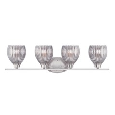 Designers Fountain Sonata Satin Platinum Bathroom Light
