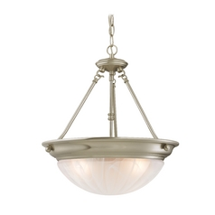 Design Classics Lighting Energy Star Qualified Three-Light Pendant 766ES-09