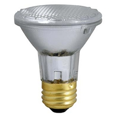Plusrite Plusrite 38-Watt PAR20 Flood Halogen Light Bulb 3499