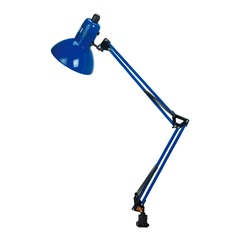 Lite Source Swing Arm Blue Swing Arm Lamp