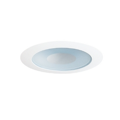 Juno Lighting Group Shower Trim for 4-Inch Low Voltage Recessed Housing 441W-WH