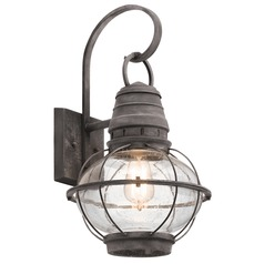 Rustic Lodge Style Outdoor Lighting