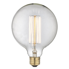Vintage Edison G40 Globe Light Bulb - 60-Watts
