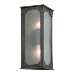 Troy Lighting Hoboken Aged Pewter Outdoor Wall Light