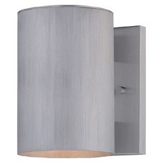 Minka Lighting Skyline Brushed Stainless Steel Outdoor Wall Light