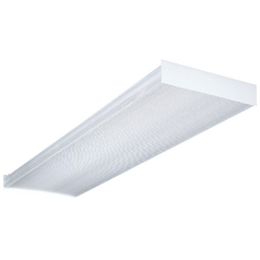 Four-Light Fluorescent Ceiling Light