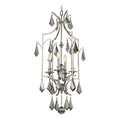 Savoy House Lighting Ballard Polished Nickel Pendant Light