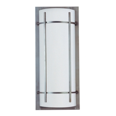Maxim Lighting Luna Ee Brushed Metal Outdoor Wall Light