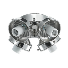 Monte Carlo Fans Light Kit in Polished Nickel Finish H4PN