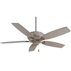 54-Inch Minka Aire Fans Classica Driftwood Ceiling Fan Without Light