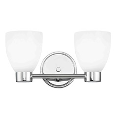 Aon Fuse Chrome Bathroom Light